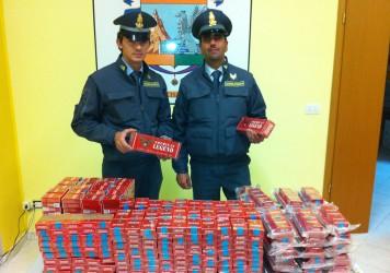 Guardia di Finanza Lauria, contrabbando tabacchi esteri lavorati. Sequestrati 715 pacchetti di sigarette. Denunciato a piede libero un responsabile