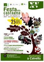 Prende il via a Calvello la XV edizione della festa della castagna  e dei prodotti del sottobosco