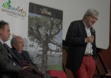 NaturArte, Sgarbi a Latronico incontra la dirigenza del Parco del Pollino e gli studenti