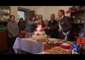 Festa a Nemoli per la centenaria Maddalena Labanca
