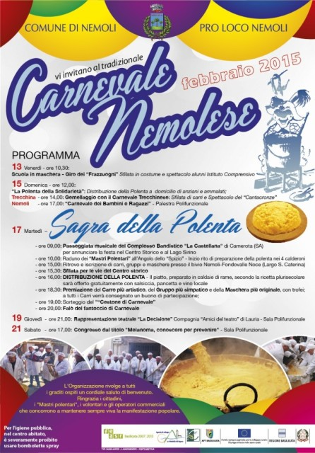 Locandina Carnevale Nemoli