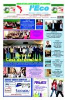 L'Eco – Anno XIII n. 18 – 01 ottobre 2014