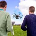 drone in azione