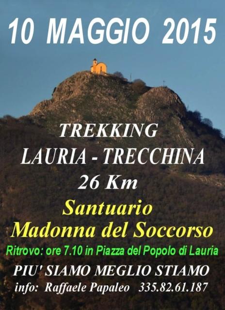 Trekking Santuario Trecchina 2015 ore 7.30