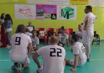La nazionale di Sitting volley in Basilicata tra Rotonda e Lauria