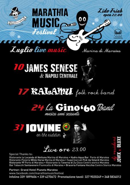Locandina Live Luglio