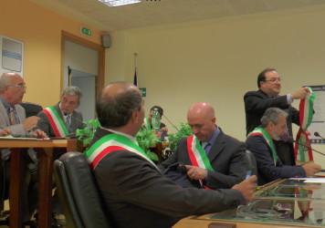 Si insedia l'Unione dei Comuni del Lagonegrese, Gaetano Mitidieri eletto presidente