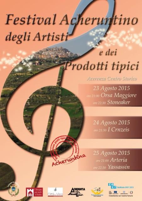 Festival Acheruntino degli Artisti e dei Prodotti Tipici