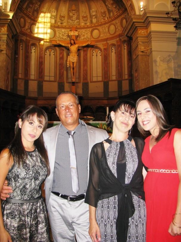 25 anni di matrimonio per angelo maceri e nicolina for Immagini auguri 25 anni di matrimonio