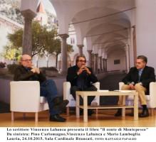 """Vincenzo Labanca presenta a Lauria il romanzo """"Il Conte di Montepesco"""" ispirato alla vita del sen. Pittella"""