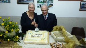 Nozze d'Oro per Nicola Palladino e Lina Romano di Tortora