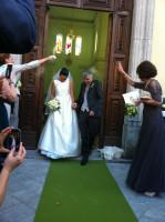 Patrick Mc Gauley ed Eleonora Marsiglia  di Rivello si sono sposati