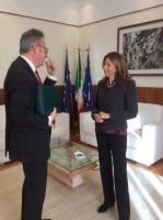 Il Presidente Valluzzi incontra il nuovo Prefetto di Potenza