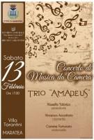 """Il Trio """"Amadeus"""" a Maratea per un Concerto di Musica da Camera"""