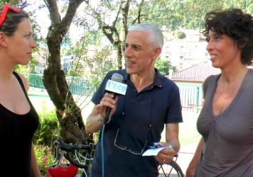 La Basilicata ha ospitato Linda e Silvia 'cicliste per caso' nel nome di Alfonsina Strada