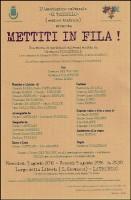 """""""Il Tassello"""" presenta a Latronico il 3 agosto """"Mettiti in fila!"""""""
