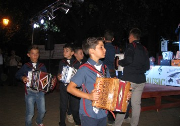Primo Festival dell'Organetto a Lauria