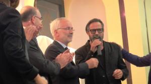 """La simpatia di Marco Baldini che ritrova il """"suo"""" Fiore ed infiamma Lagonegro"""