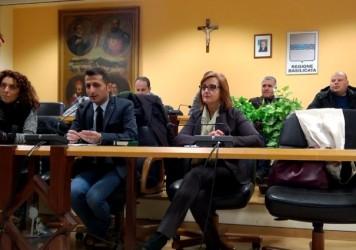 Conferenza stampa di fine anno dell'Amministrazione Comunale di Lauria