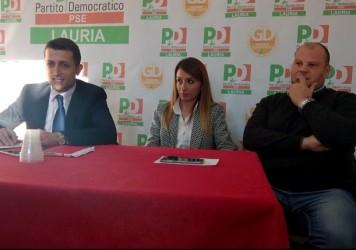Conferenza stampa del sindaco di Lauria Angelo Lamboglia