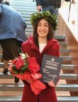 Maria Raffaella Nicodemo di Trecchina si è laureata