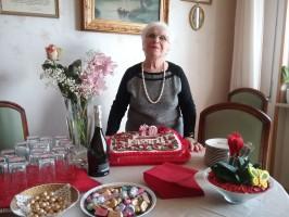Maria Caterina Viceconti in Sisinni  ha festeggiato 70 anni