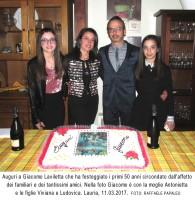 Giacomo Laviletta di Lauria compie 50 anni