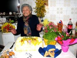 Caterina Aurora di Lauria compie 97 anni