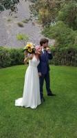 Michela Olivieri di Lauria e Andrew Wickenden  di  Londra si sono sposati