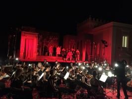 Maratea, Villa Nitti esaltata dal Rigoletto