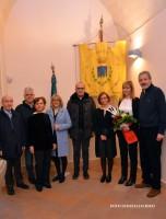 La nipote del pittore italo-argentino Tomàs Ditaranto in visita a Montescaglioso