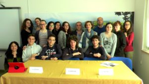 Conferenza di presentazione nella Sala stampa del Pisacane di Sapri del Masterclass di pianoforte