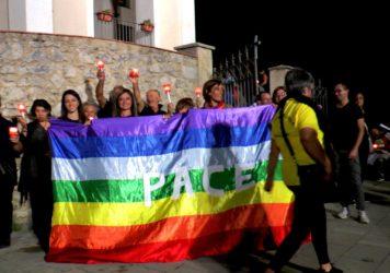 Il gruppo 'Genitori consapevoli' ha organizzato a Lauria una fiaccolata per i bambini siriani