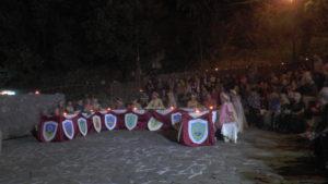 """Gli """"Amici del castello"""" promuovono a Lauria, in onore dell'Ammiraglio, la cena medievale"""