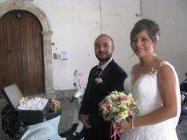 Maria Francesca Papaleo di Lauria e Andrea Rocco di Lagonegro si sono sposati