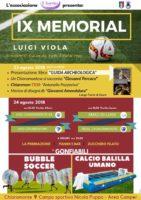 "Chiaromonte: Memorial calcistico ""Luigi Viola"""