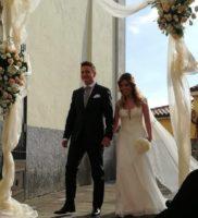 Domiziana Cozzi e Christian Propato di Lauria si sono sposati