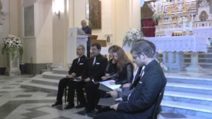 Grande accoglienza a Lagonegro per i musici del Vaticano