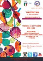 Potenza, prima Convention di presentazione Anno sportivo 2018/19