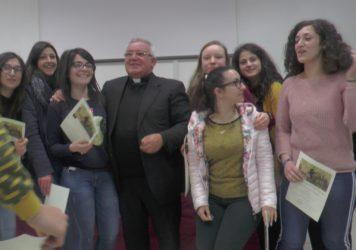 L'Isis Ruggero di Lauria incontra il Vescovo Vincenzo Orofino