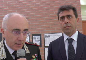 Inaugurata a Francavilla sul Sinni la mostra sull'eroe Claudio Pezzuto